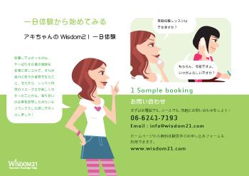 Wisdom21 school brochure